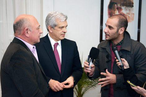 Conferencia de prensa: Intendente de Alte Brown Daniel Bolettieri y Julián Domínguez
