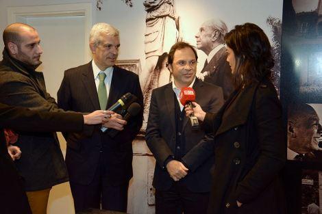 Móvil en vivo junto a C5N con el presidente de la HCDN, Julián Dominguez y el Diputado Nacional, Darío Giustozzi.