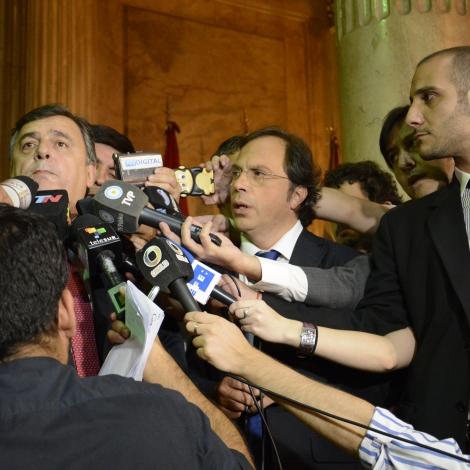 Conferencia de prensa sobre el caso Nisman - Congreso de la Nación