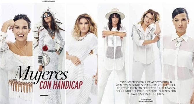 Mujeres con hándicap